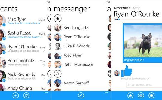 Facebook Messenger Windows Phone