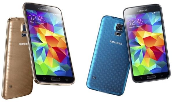 Galaxy S5 Or Bleu