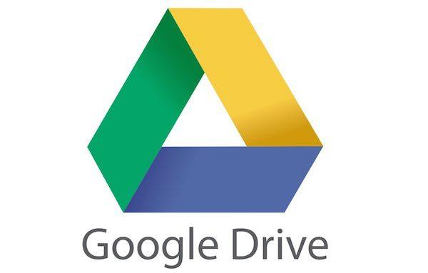 Google Drive Logo 600x383