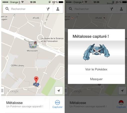 Google Maps Poisson Avril 2014 Pokemon