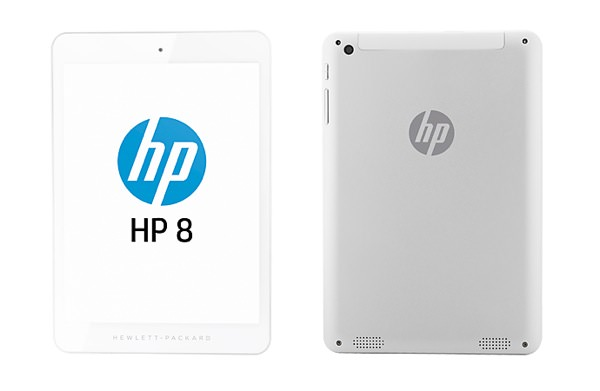 HP 8 Tablette