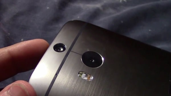 HTC One 2014 Arriere Fuite Video