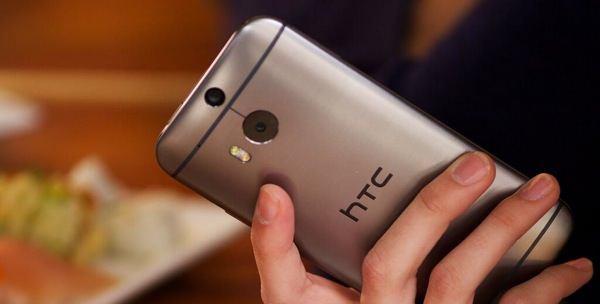 HTC One M8 Arriere Officiel