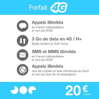 Joe Mobile Forfait 4G