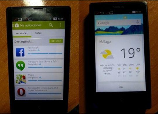 Nokia X Hack Google Play