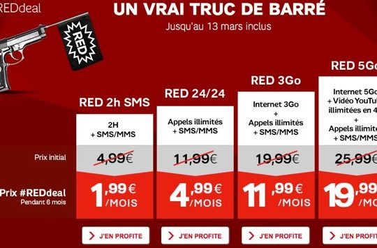SFR RED Promotion Mars 2014
