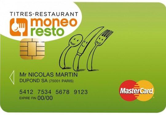 Ticket Restaurant Carte