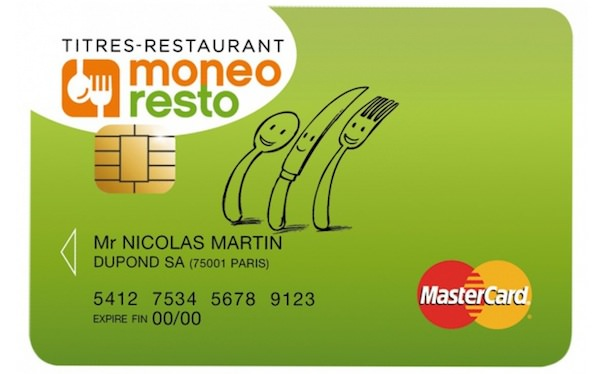 Ticket Restaurant Carte