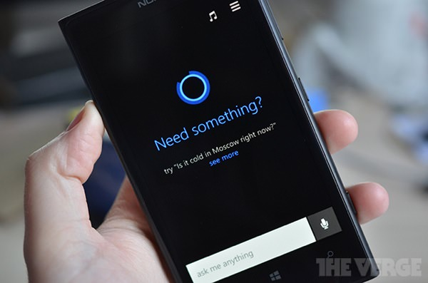 Windows Phone 8.1 Cortana Fuite
