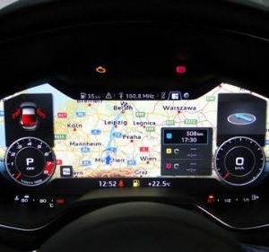 audi tt voiture high tech