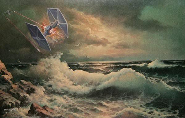 peinture star wars