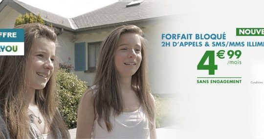 BandYou Forfait Bloque 4,99 euros