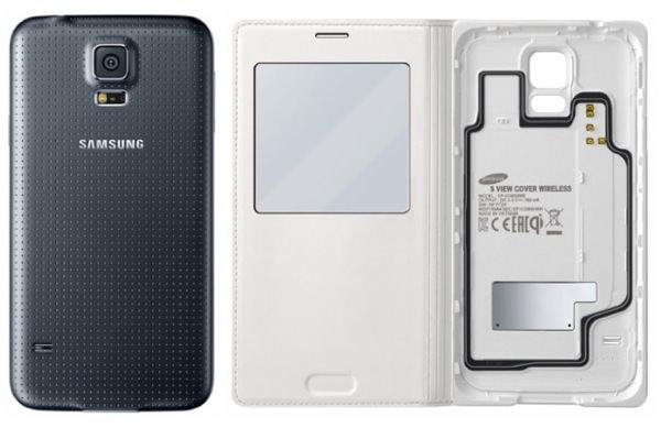 Galaxy S5 Coques Rechargement Sans Fil