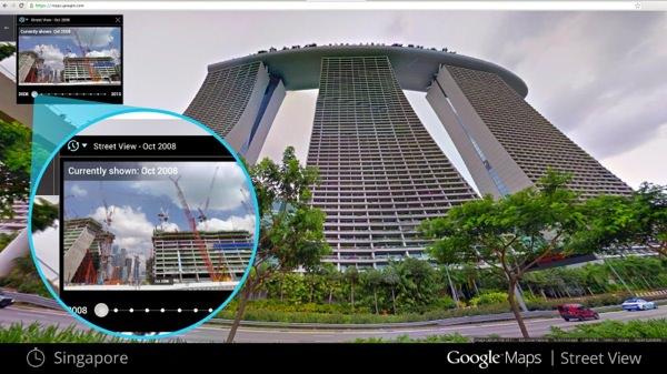 Google Maps Street View Retour vers le passe