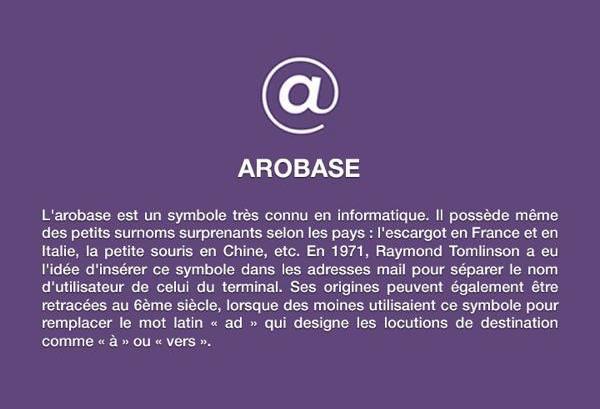 Histoire-arobase
