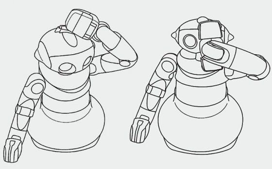 Sony-brevet-Robot