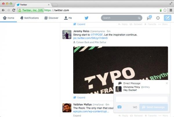 Twitter Notifications Web Officiel