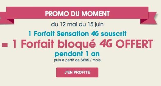 Bouygues Telecom Promo Forfait 4G Souscrit Forfait Bloque Offert