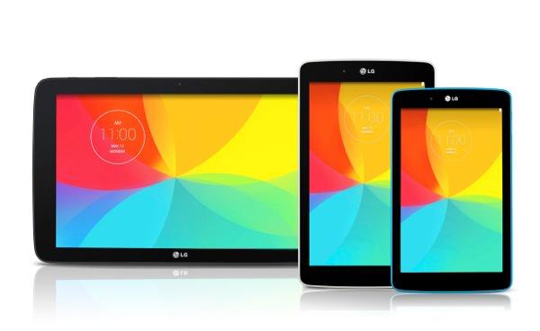 LG G Pad 7.0 8.0 10.1