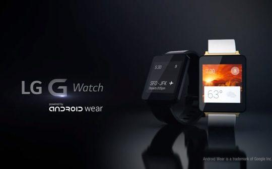LG G Watch Promo