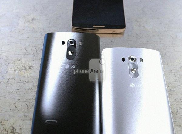 LG G3 Noir Blanc Fuite