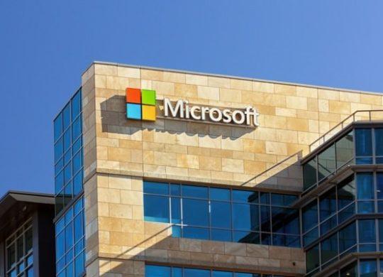 Microsoft Logo Batiment