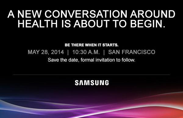 Samsung Confrence Sante 28 Mai 2014