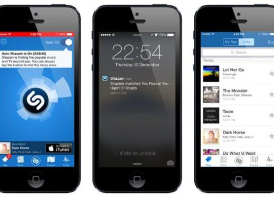 Shazam iOS 7