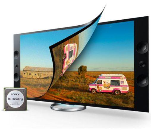 """Sony mise beaucoup sur son KD55X9005 4K UHD ainsi que sur ses procédés """"maison"""" d'optimisation de l'image comme le X-Reality"""