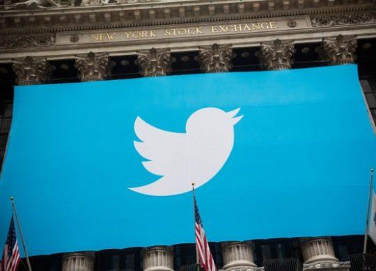 Twitter Logo Panneau