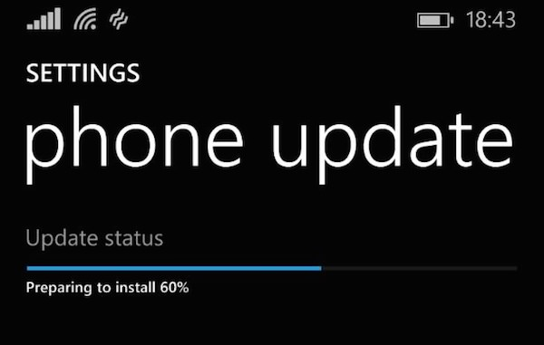 Windows Phone Mise a Jour