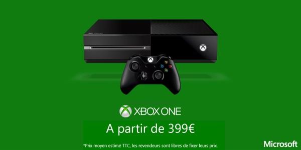 Xbox One 399 euros