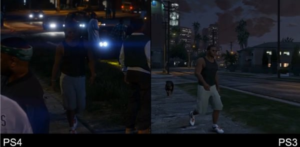 GTA 5 PlayStation 3 vs PlayStation 4