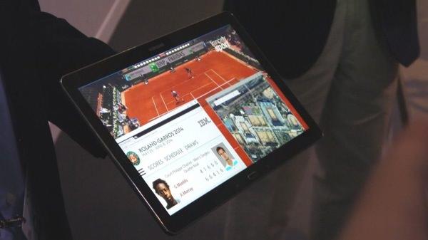 Samsung Tablette 12 pouces 4K Prototype