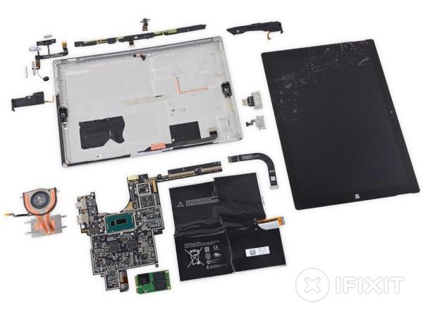 Surface Pro 3 Demontage iFixit