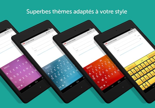 SwiftKey Clavier Android Theme