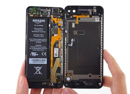 Amazon Fire Phone Demontage iFixit