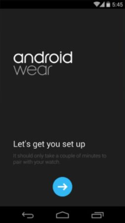Android wear companion