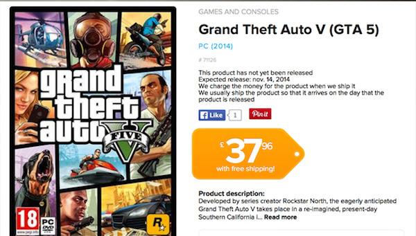GTA 5 14 Novembre Officieux
