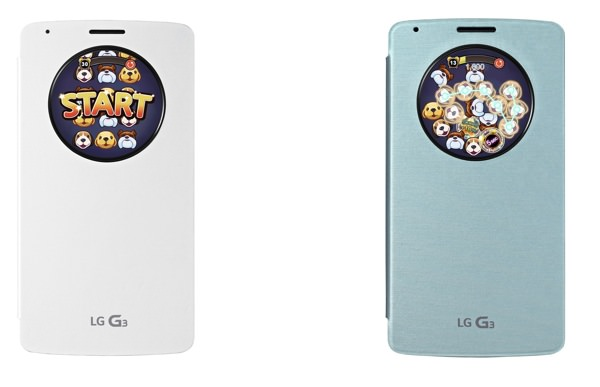LG G3 QuickCircle Puppy Pop