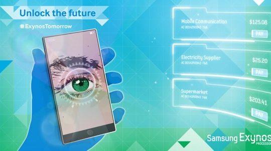 Samsung Scanner Retinien Teasing Twitter