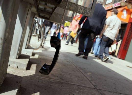 Telephone Cabine Telephonique New York