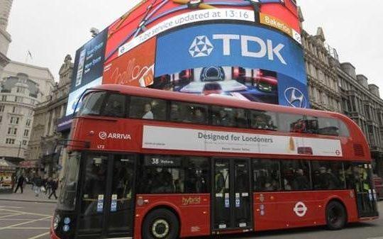 Bus londonien wifi