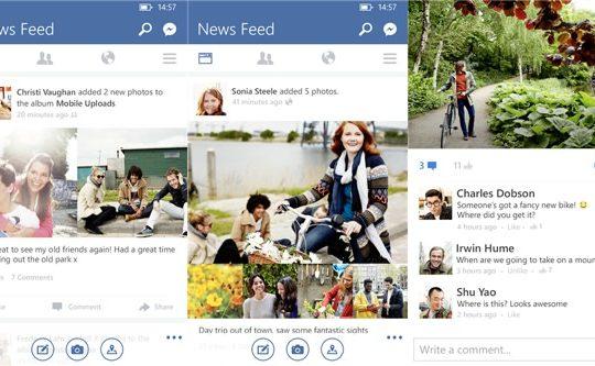 Facebook Windows Phone Version 5.3