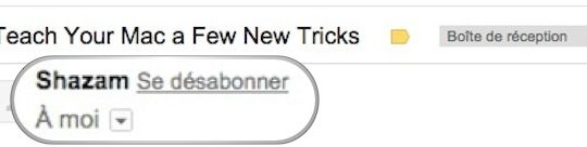 Gmail Bouton Se Desabonner