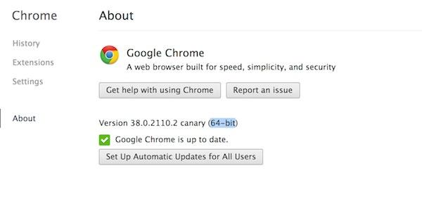 Google Chrome Canary 64 Bits