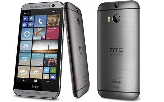 HTC One M8 Windows Phone Officiel 2