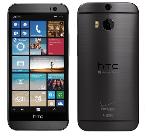 HTC One M8 Windows Phone Officiel