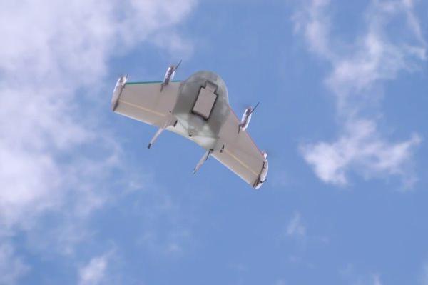 Project Wing Drone Livraison Google