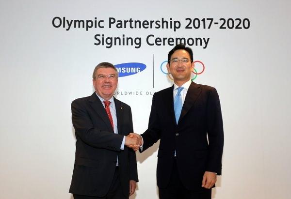 Samsung Partenariat Jeux olympiques 2020